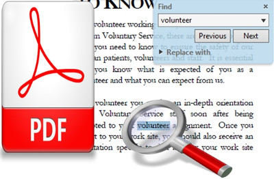 VDOCS Searchable PDF files OCR